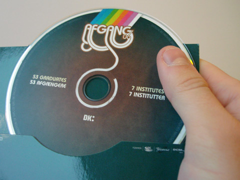 CD-ROM with printed label.