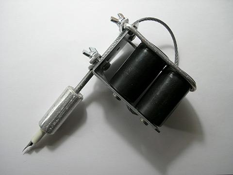 Home made tattoo gun (not functional)