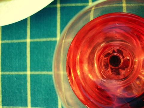 Lambrusco til aftensmaden. Det er og bliver min favorit sommer-drik. Den smager dog stadig bedst på Bar Nolo i Malgrat De Mar.