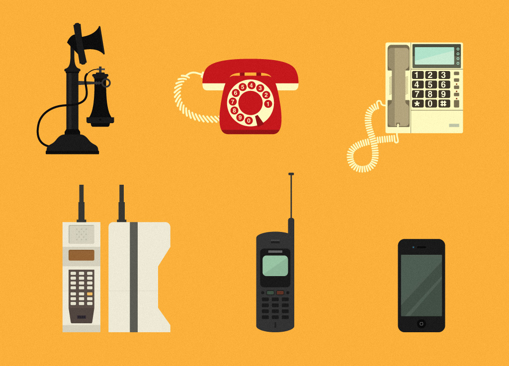 a history of the telephone As with most inventions, bell did not have the intentions originally of creating a device that would be able to transmit speech with the use of electric current.